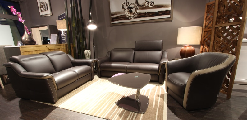Salon Canap Cremona Canap Fauteuil Cuir Tissu Relax